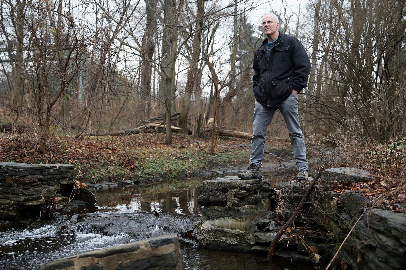 Adam Levine, the sewer expert, tracks Philly's hidden streams