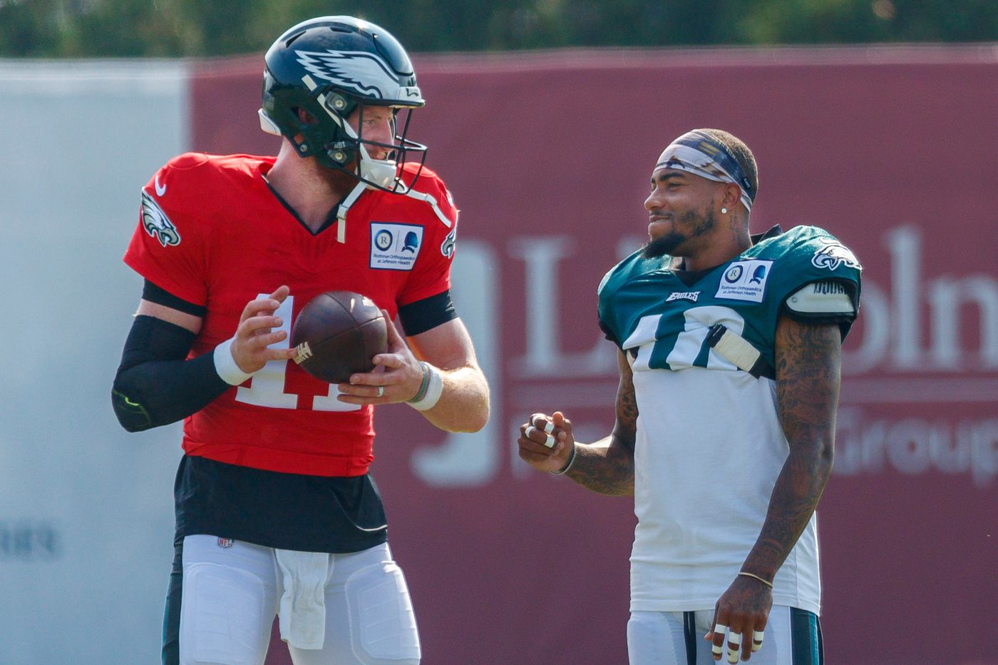 Carson Wentz and the deep ball: Not yet perfect together