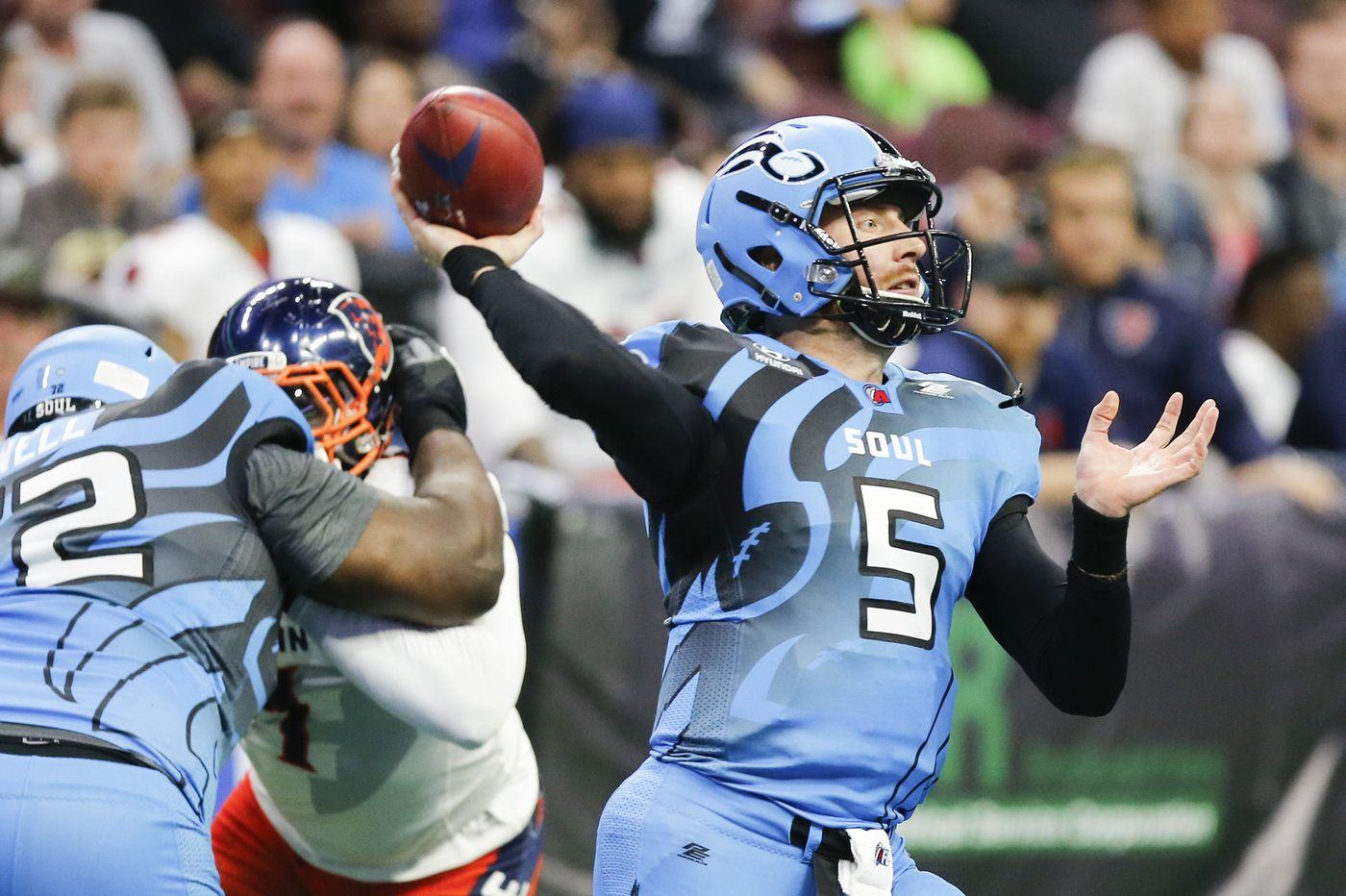 Soul cruise to victory over Atlantic City Blackjacks