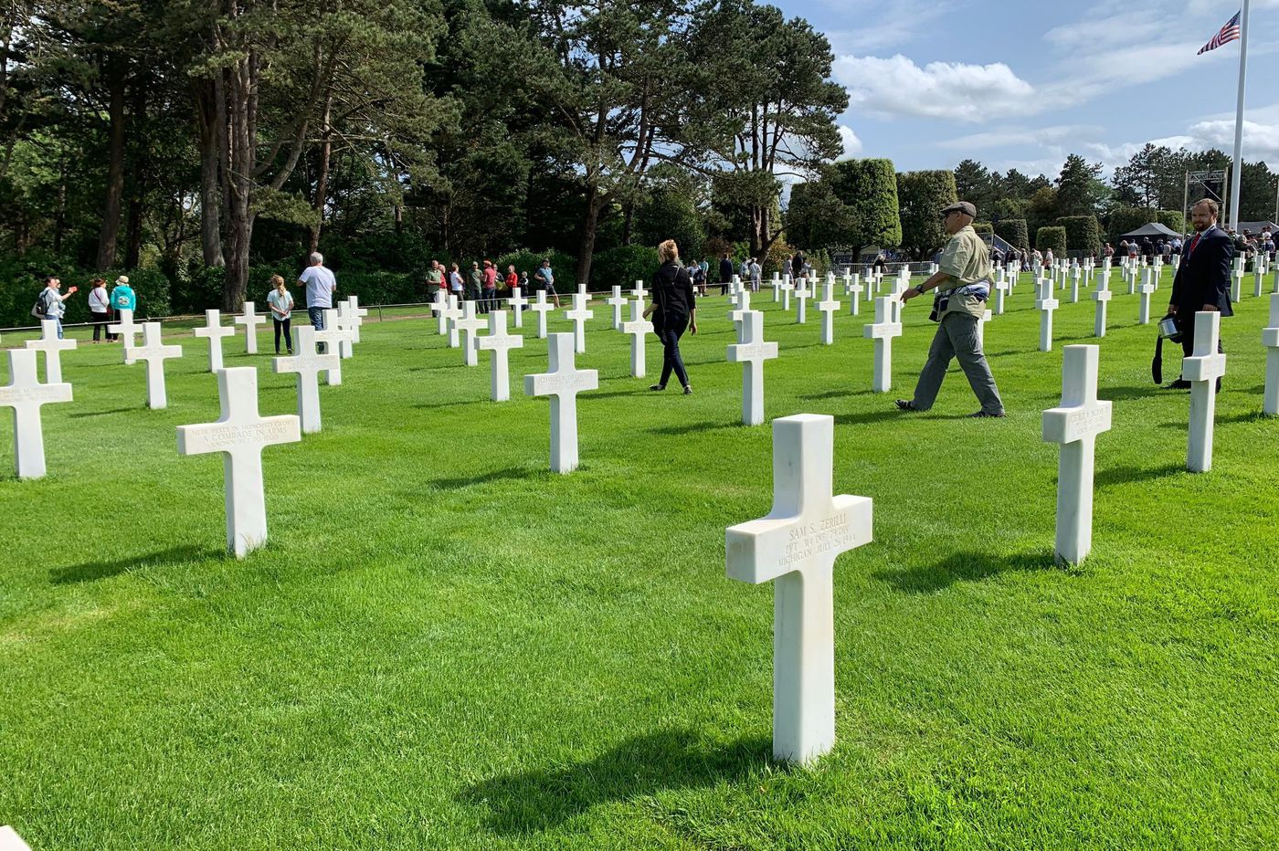75th anniversary of D-day: A visit to the Normandy cemetery reminds us of the values thousands died for   Trudy Rubin