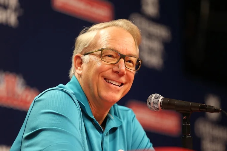 Andy MacPhail offered up his post-mortem comments for the media on Tuesday.