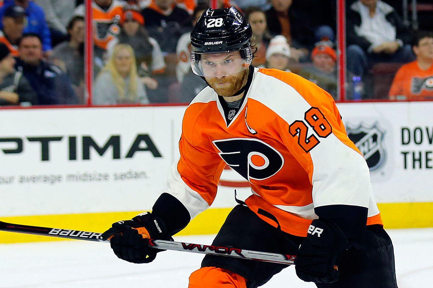 Giroux a long-lasting Flyers captain
