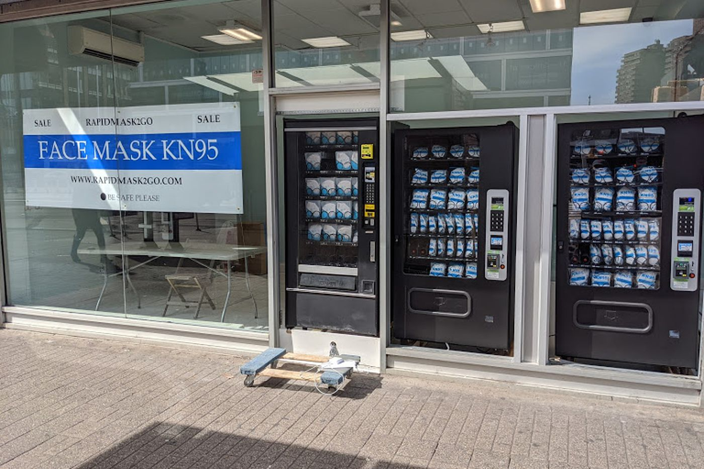 PPE vending machines could come to Philly as the region preps for reopening