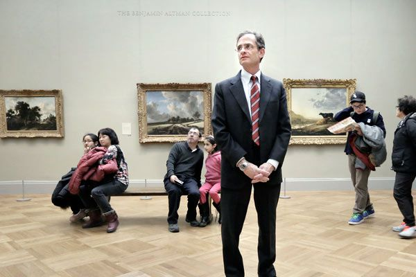 A dream job for Haverford College's art lover