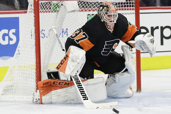 Flyers goalie Brian Elliott brilliant in losing shootout to Maple Leafs; Ivan Provorov promoted