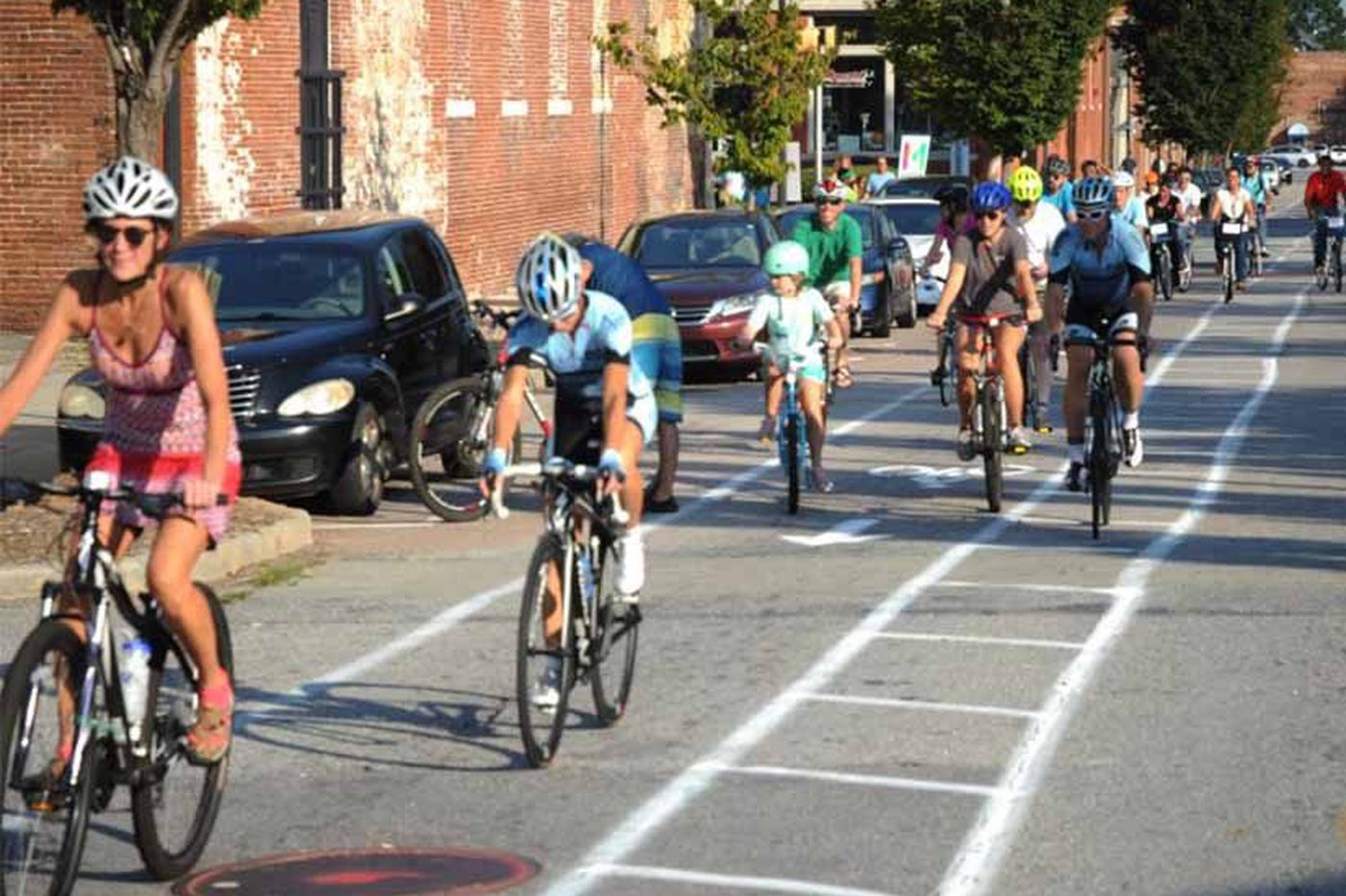 Temporary bike grids: How Macon, Ga., won the bike lane culture war | Ideas We Should Steal