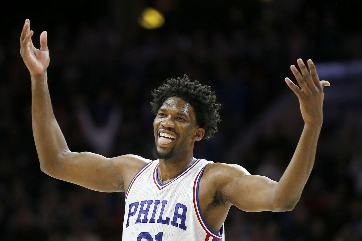Fans ask Embiid to be their dad, buy them Shirley Temples and not get hurt