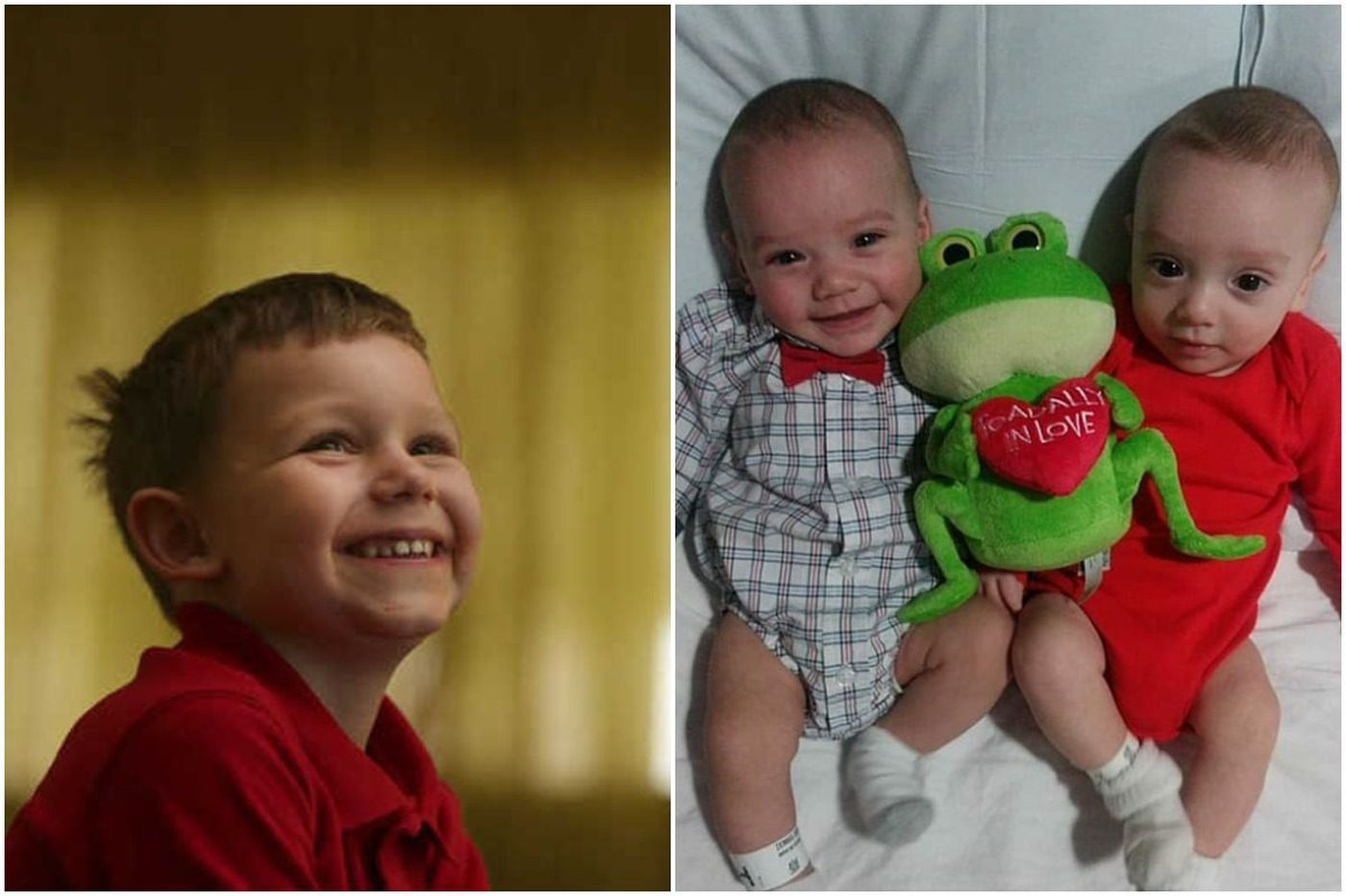 South Philly boy, 4, will donate his bone marrow to save his twin baby brothers
