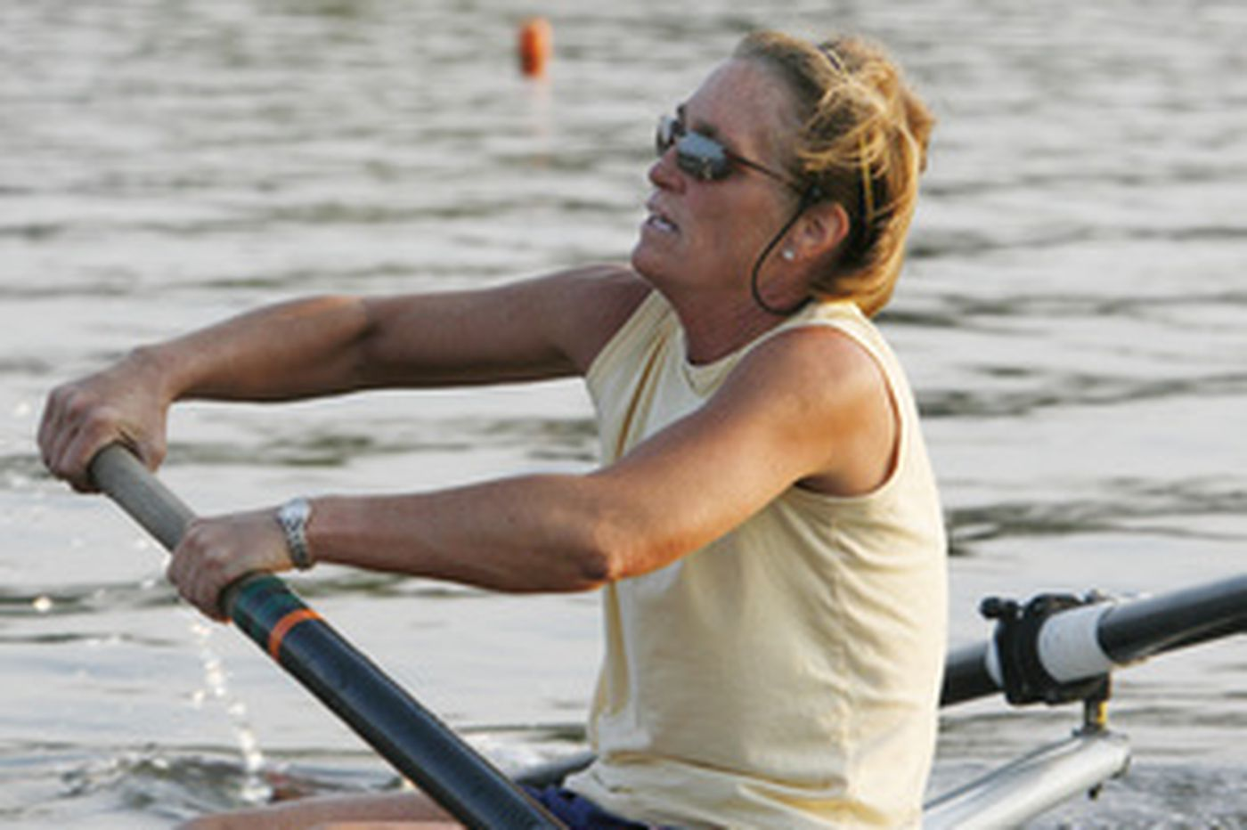 Master rowers take to the river