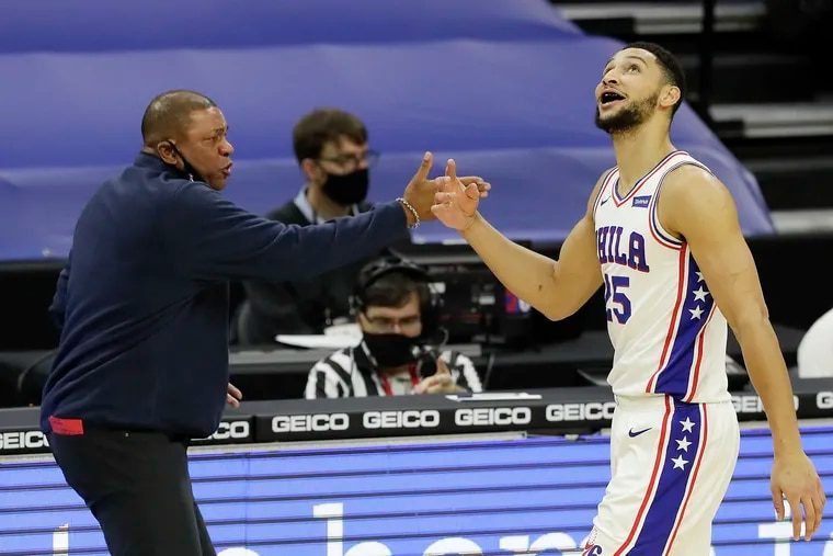 Sixers coach Doc Rivers didn't rule out Ben Simmons playing Friday in the preseason finale, although it's unlikely.