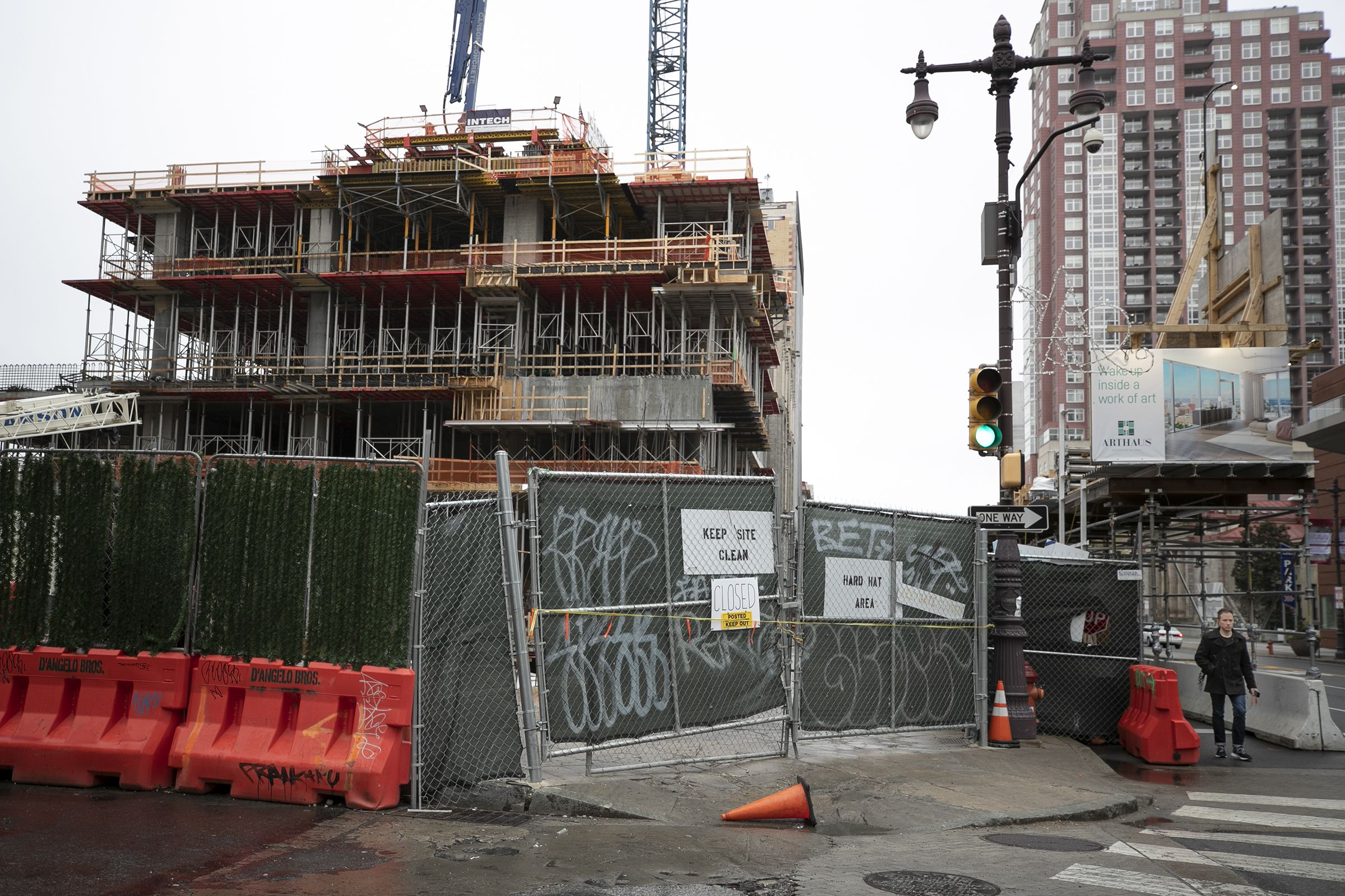 Coronavirus Quiets The Boom Of Philly Construction