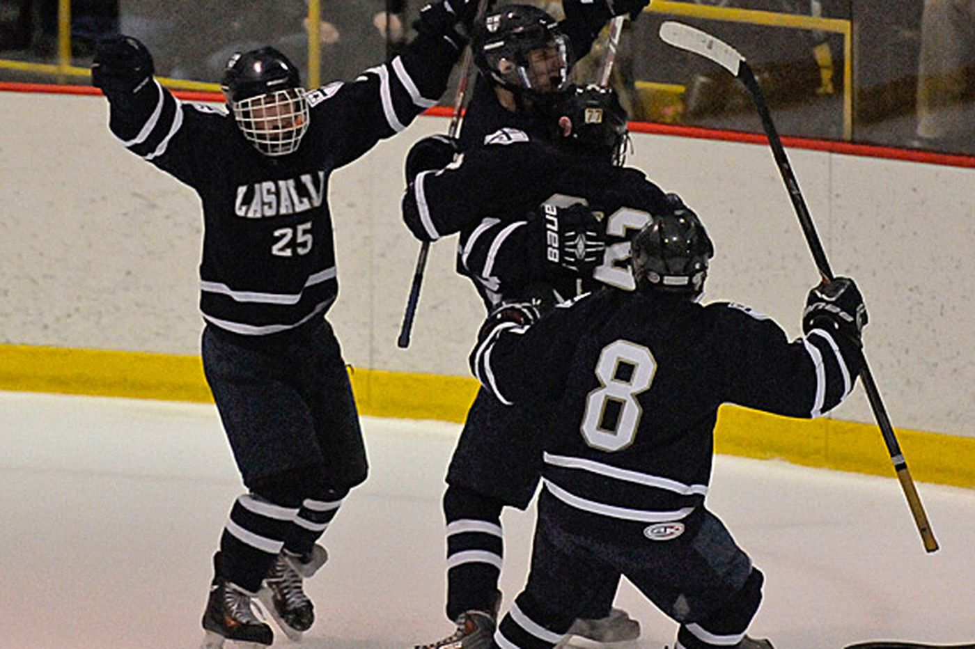 La Salle and West Chester Rustin win Pennsylvania Cup ice hockey championships