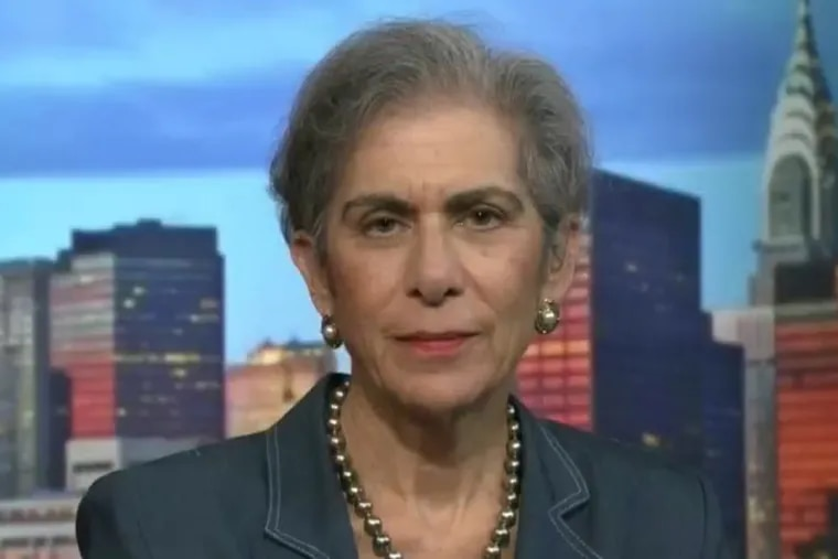 University of Pennsylvania law professor Amy Wax, seen here in 2017 during an appearance on C-SPAN.