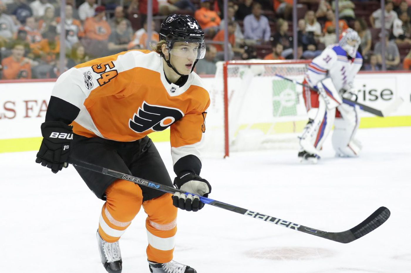 With Wayne Simmonds sidelined, Oskar Lindblom given his first chance with Flyers