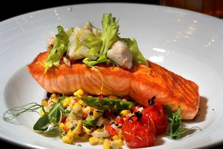Supplements may have drawbacks, but regularly eating oily fish like this Scottish king salmon, is clearly good for you.