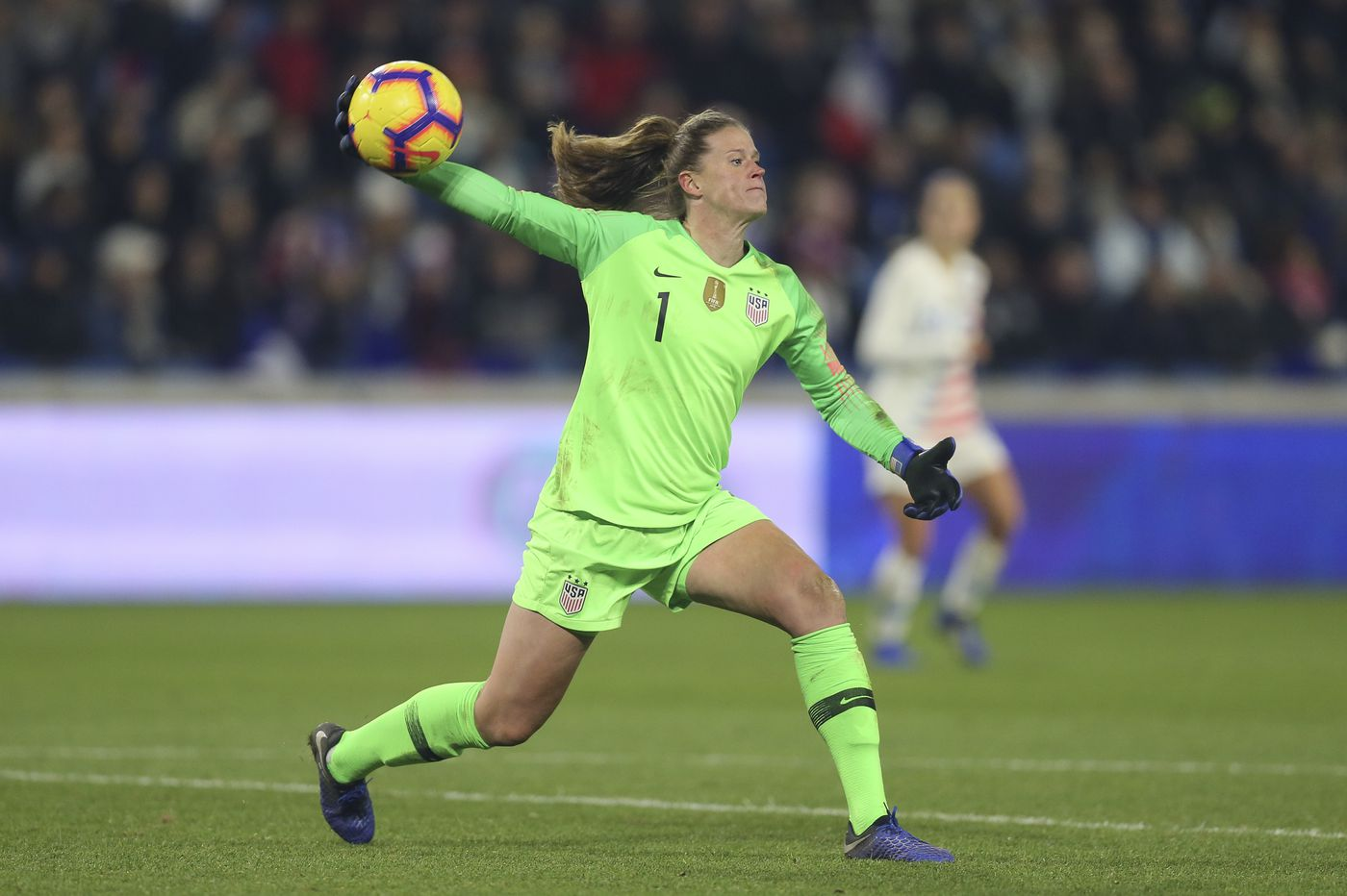 the best attitude 064ea d3d30 Can USWNT goalkeeper Alyssa Naeher live up to the World Cup ...