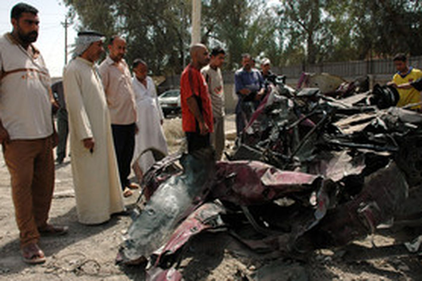 Bomb toll rises; U.S. says buildup nearly complete