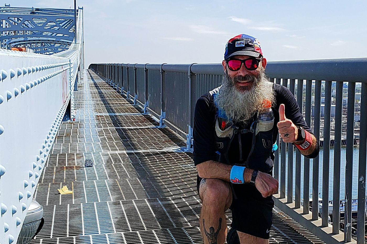 He ran 76 miles around the perimeter of Philadelphia in one day — and used Wawas as pit stops