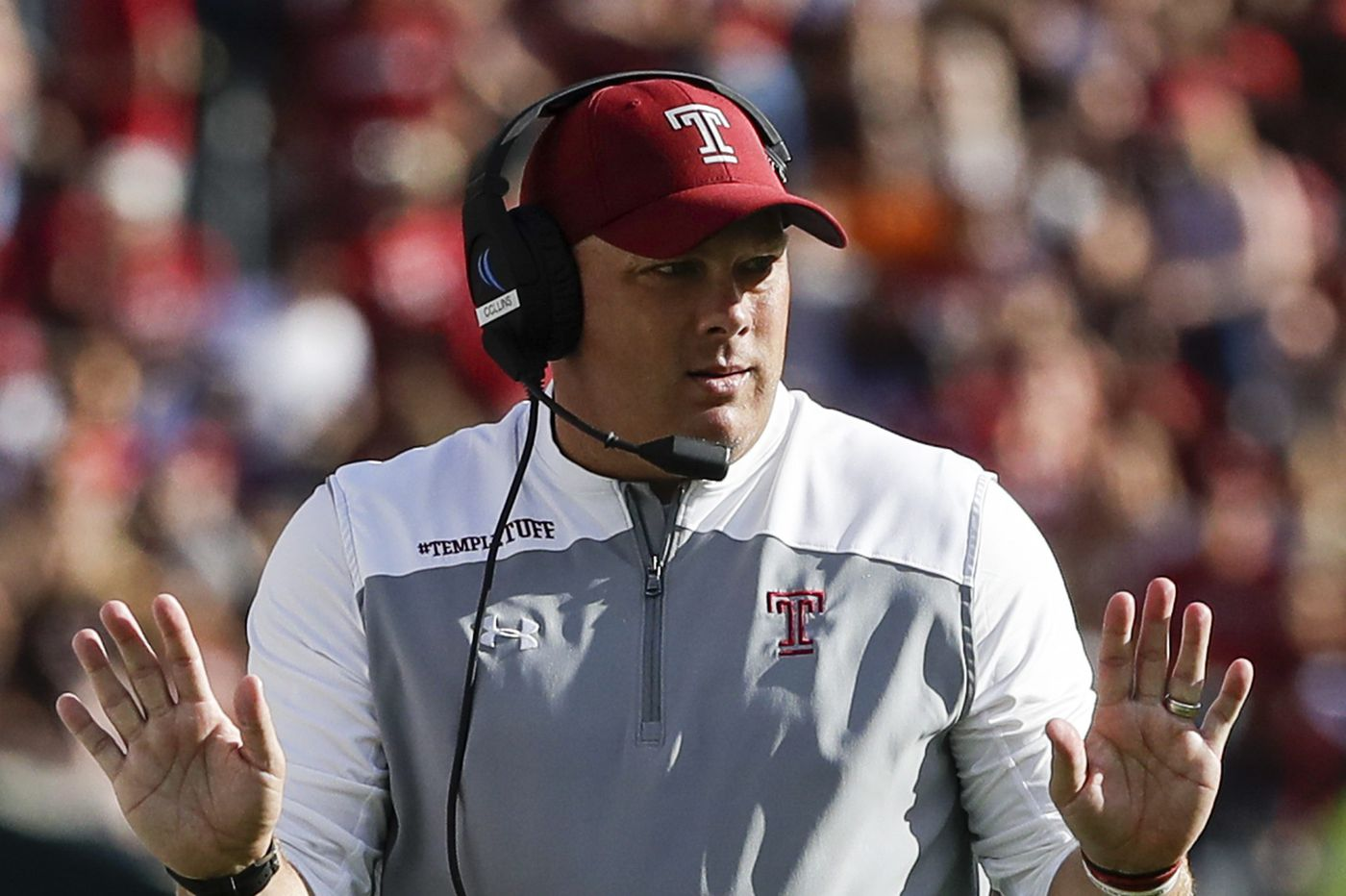 Temple adds three more football commitments