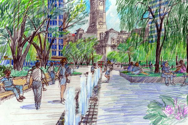 Wrestling with how to revitalize LOVE Park - and how to pay for it