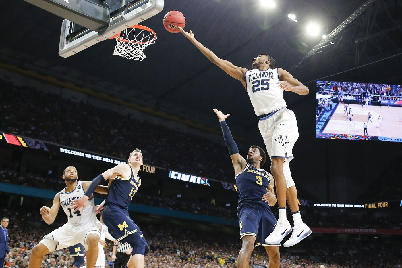 Villanova's Mikal Bridges to work out for Sixers Tuesday as NBA draft draws closer