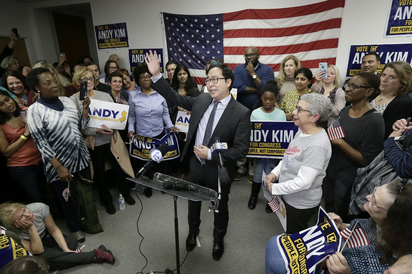 Democrat Andy Kim claims win over U.S. Rep. Tom MacArthur in N.J.'s 3rd Congressional District