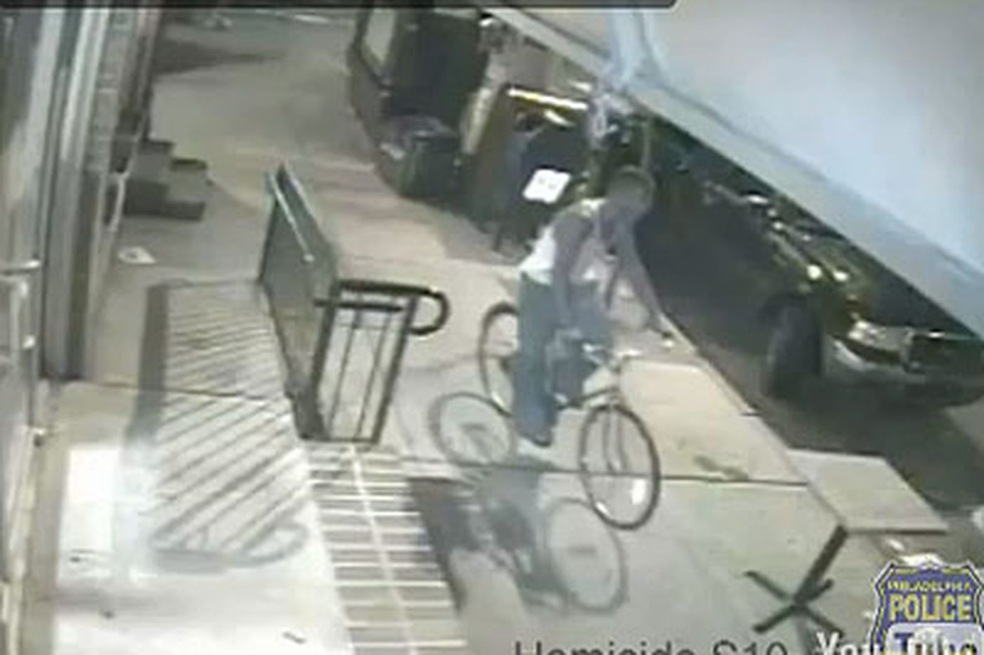 Police release video of cyclist following Sabina