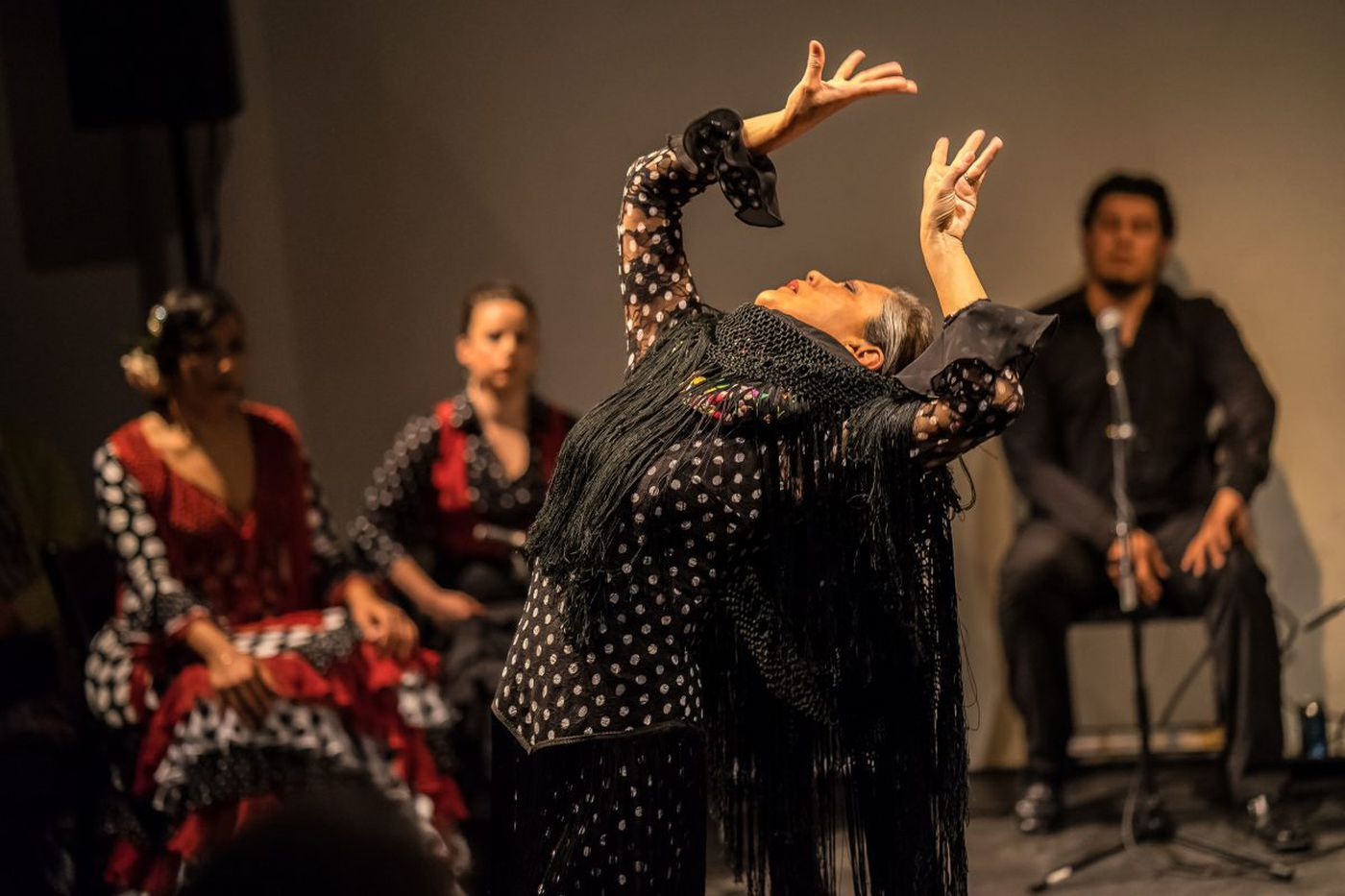 Flamenco Friday is what's on tap at the Barnes this week