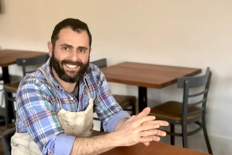 Ari Miller, chef-owner of Musi BYOB in South Philadelphia.