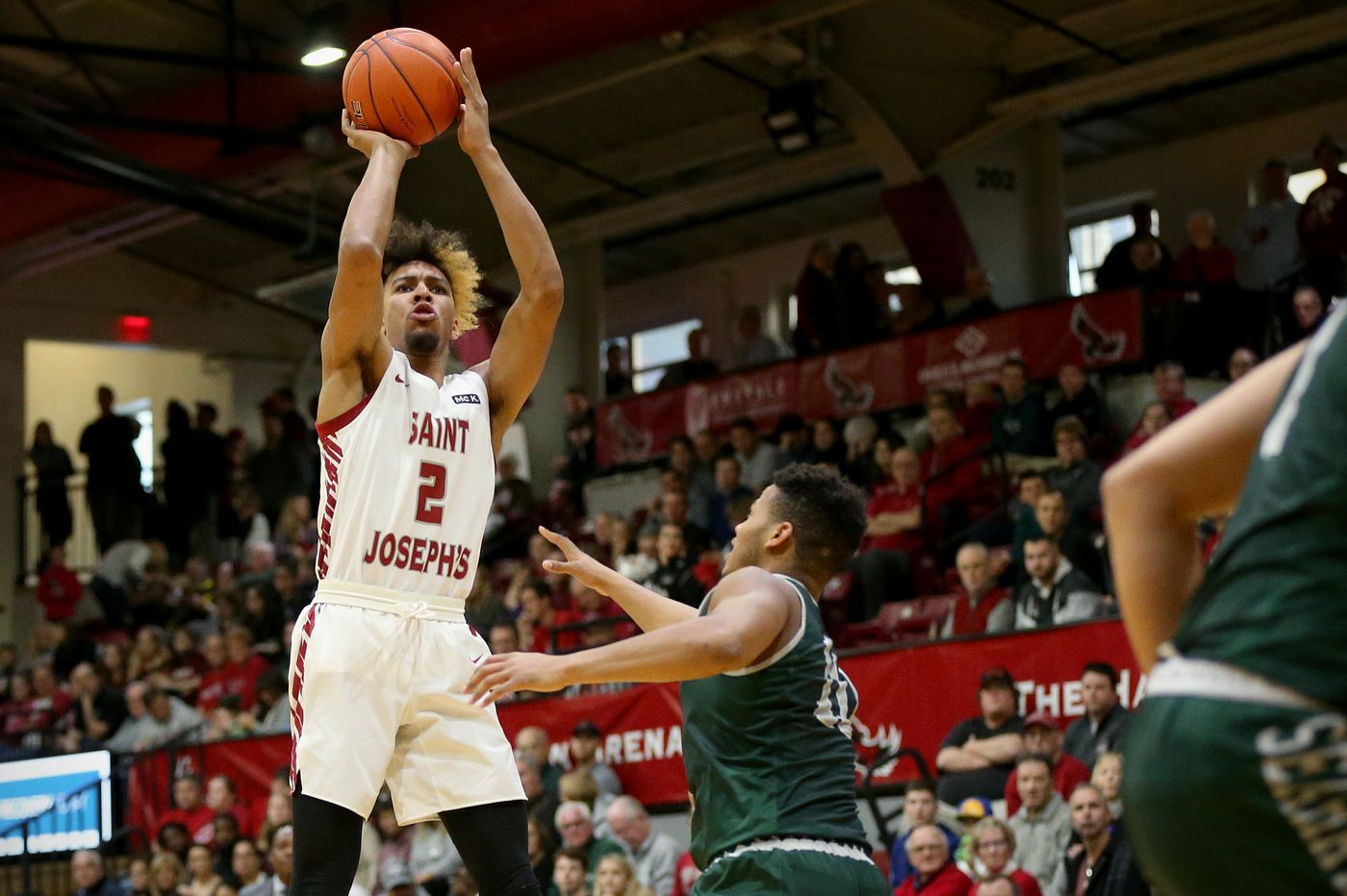 Charlie Brown's long-range shooting is turning the St. Joe's star into an NBA prospect