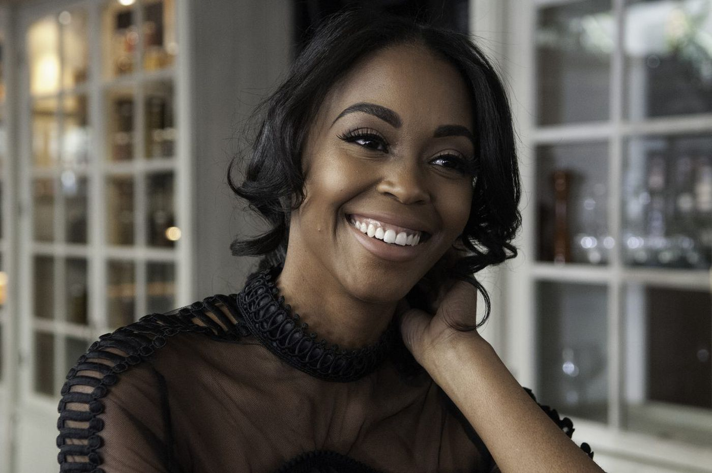 West Philly's 'Black Lightning' star Nafessa Williams blazes TV trail with her character
