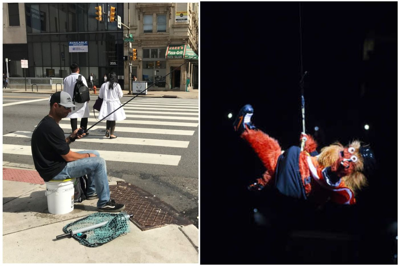 Philly's weirdest stories of 2018, from Gritty to fishing in Center City
