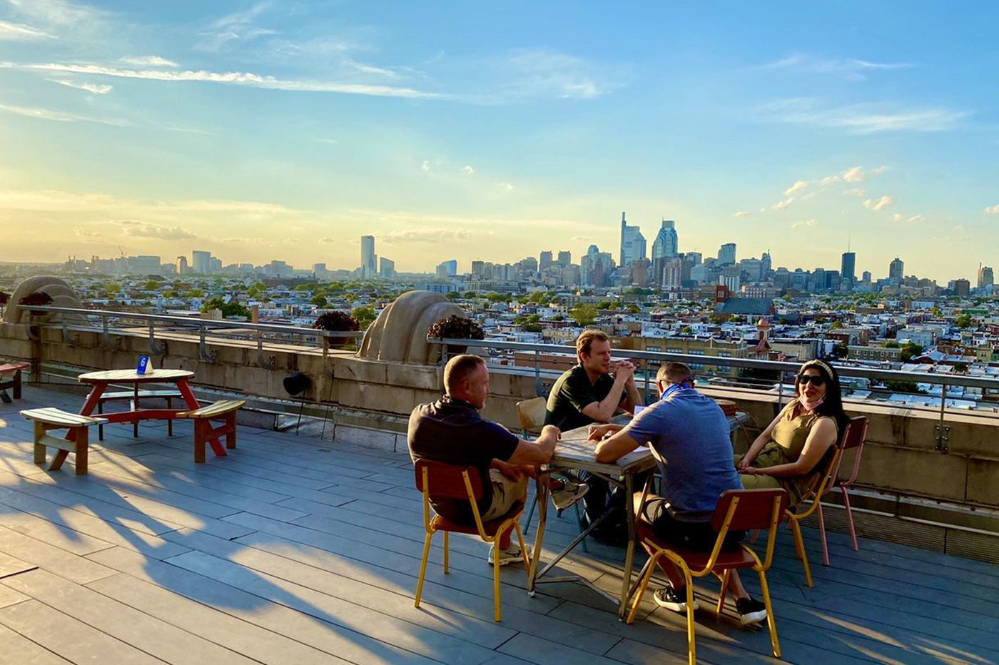 11 Philadelphia-area rooftop restaurants and bars that are open during the pandemic
