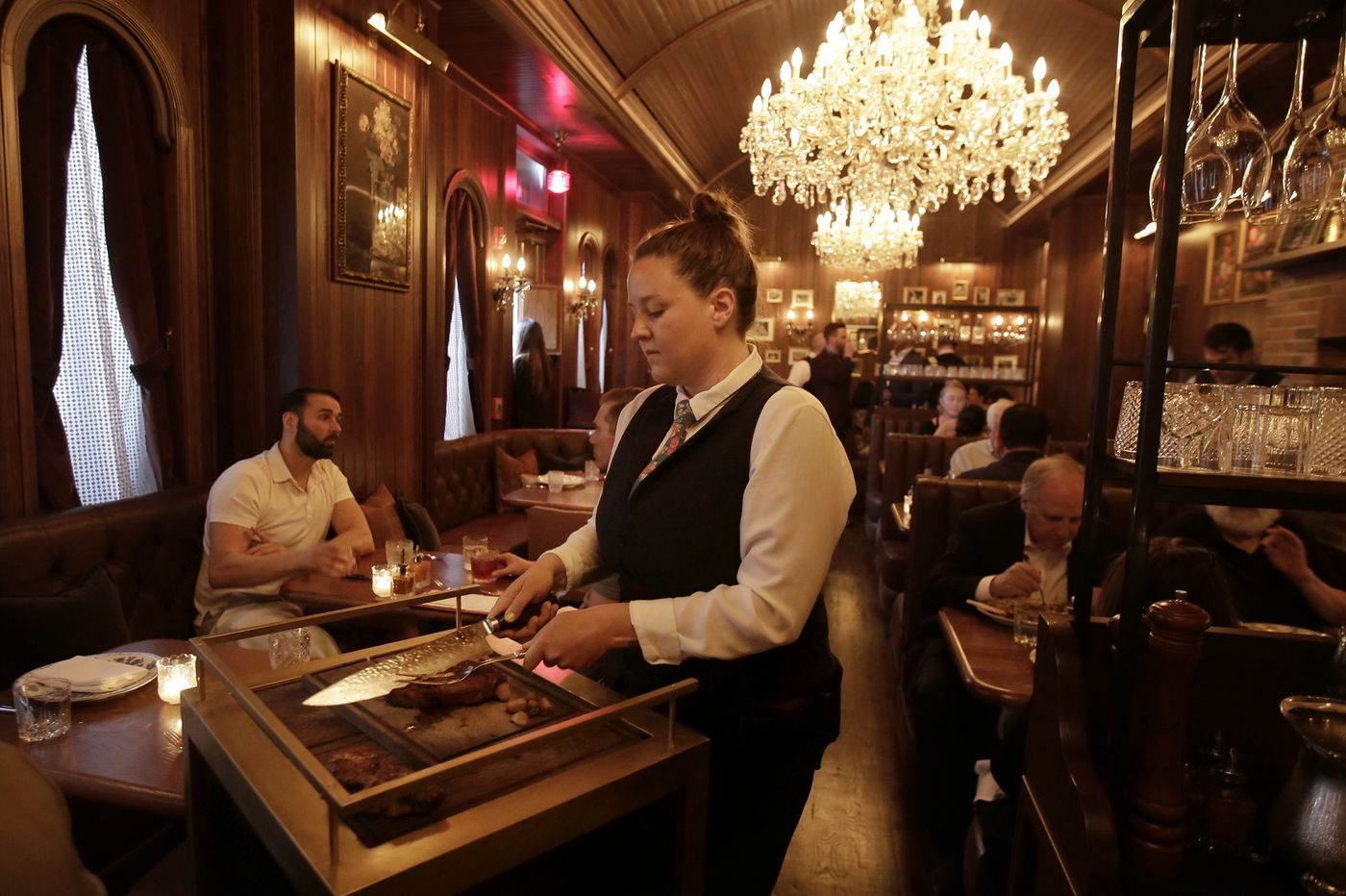 Alpen Rose review: 'Big Meat' comes to 13th Street in clubby boutique steak house