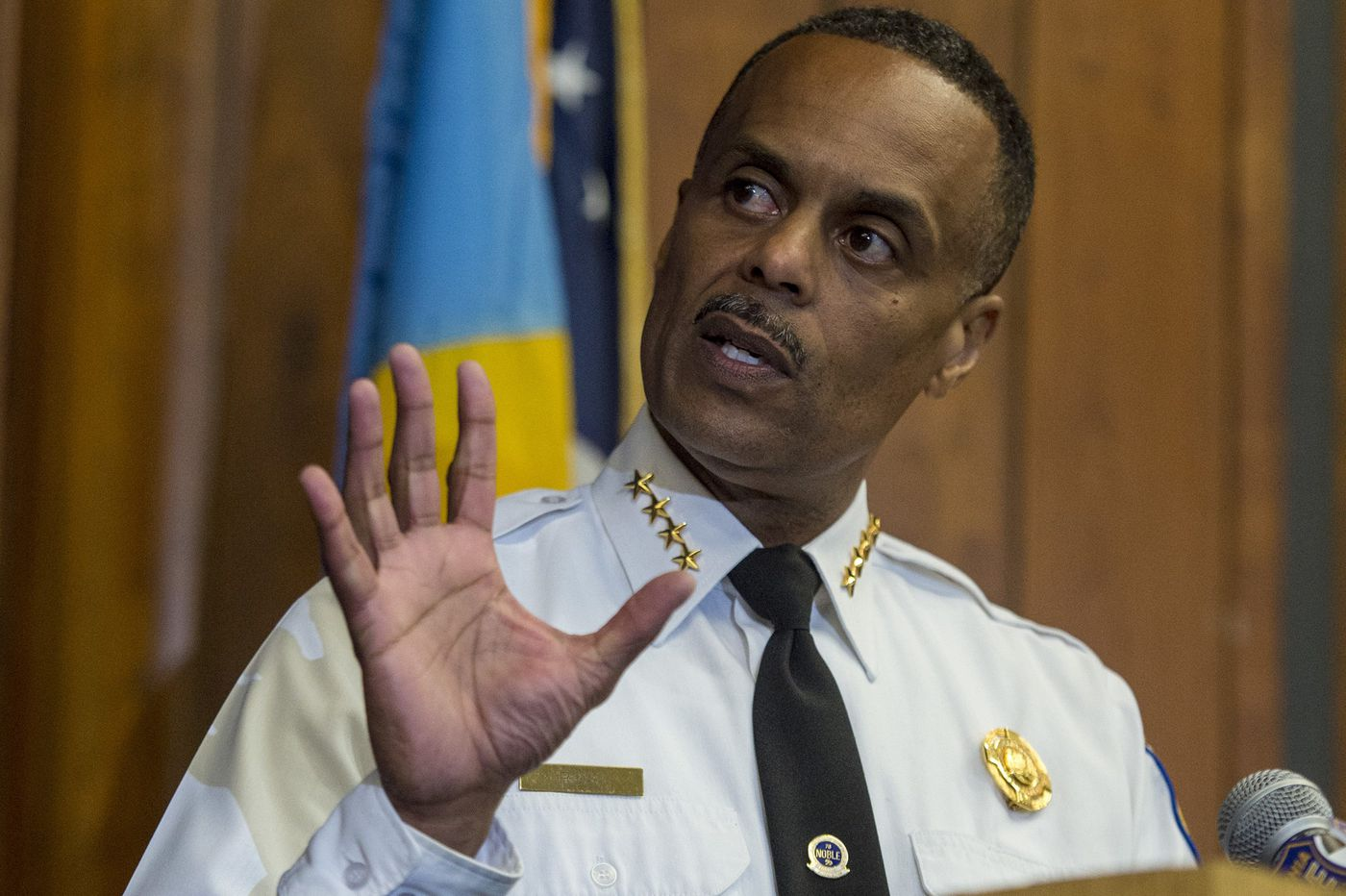 Police Commissioner Ross to Philly news organizations after Md. shootings: 'We take this very seriously'