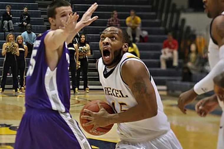 Drexel jumped out to a 25-3 lead in the first half and never looked back. (David M Warren/Staff Photographer)