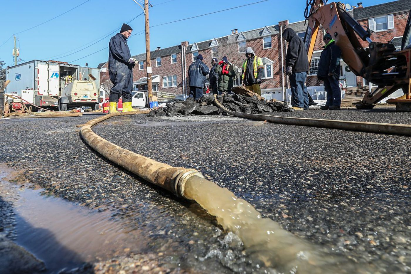 Frigid temps cause water main breaks, burst pipes in Philly and suburbs