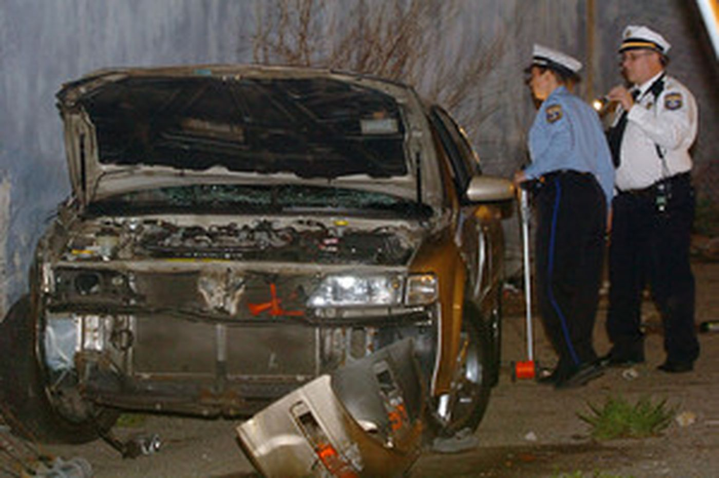 Cops: Love triangle led woman to plow car into 3 in N. Phila.