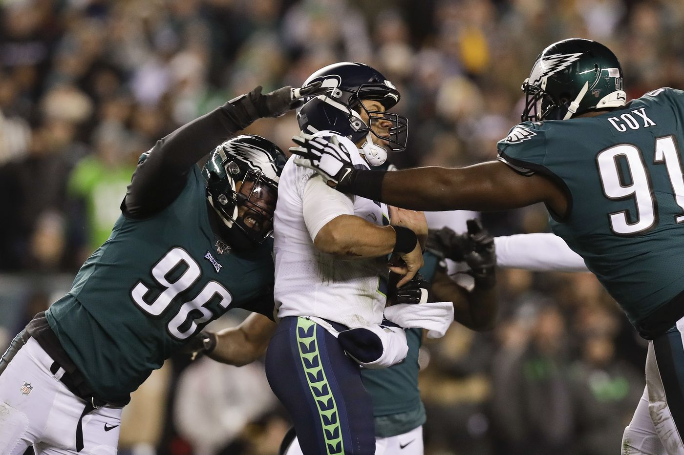 Eagles vs. Seahawks: Jim Schwartz doesn't like to blitz, but it's been a big part of his strategy against Russell Wilson