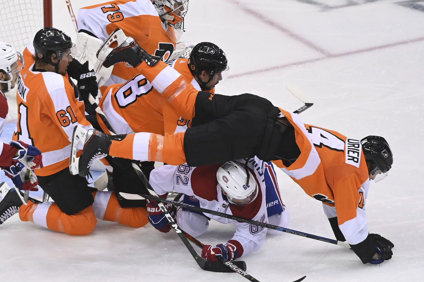 Observations of the Flyers' 5-3 loss to Montreal in Game 5