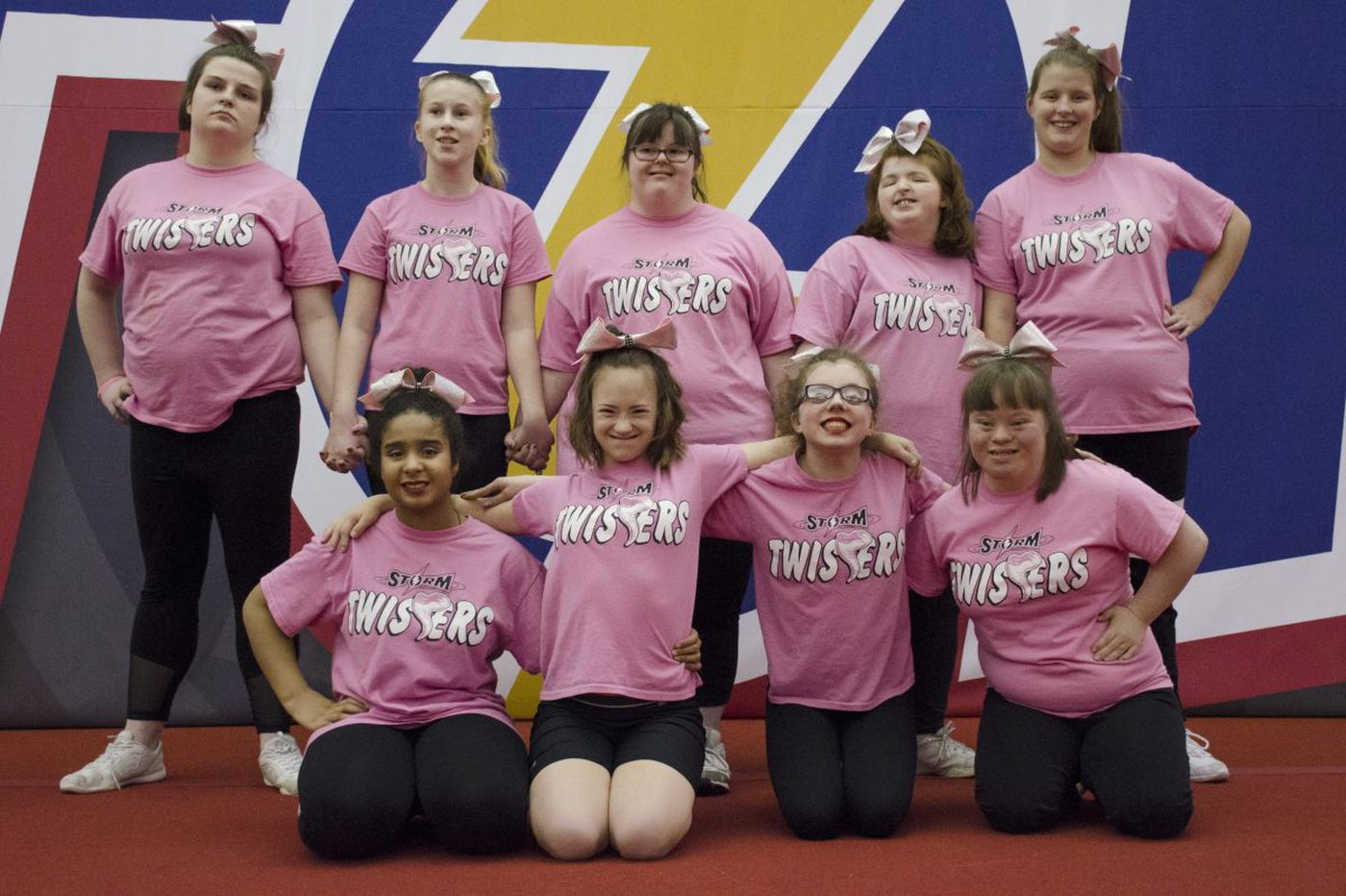 They're going to Disney World! The Twisters of South Jersey, a special needs cheerleading team, heads to Florida for national championship.