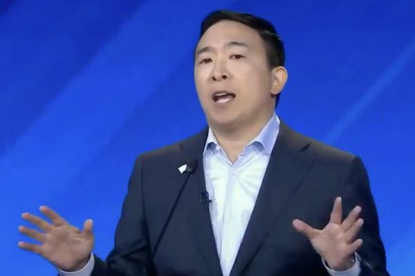 Andrew Yang opens Democratic debate with pledge to give 10 random families $120,000. But is that legal?