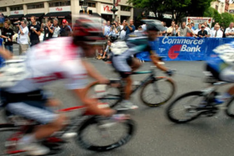 """The Lehigh Valley Classic is just one of the bike races produced by Pro Cycling Tour L.L.C. """"Cycling has never been more popular,"""" partner David Chauner said."""