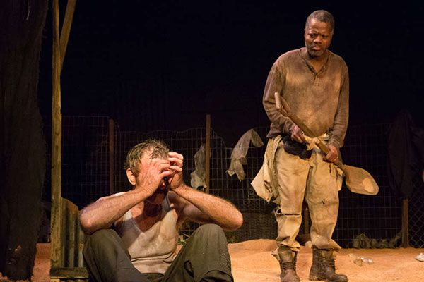 Fugard vents scattershot rage in 'The Train Driver'