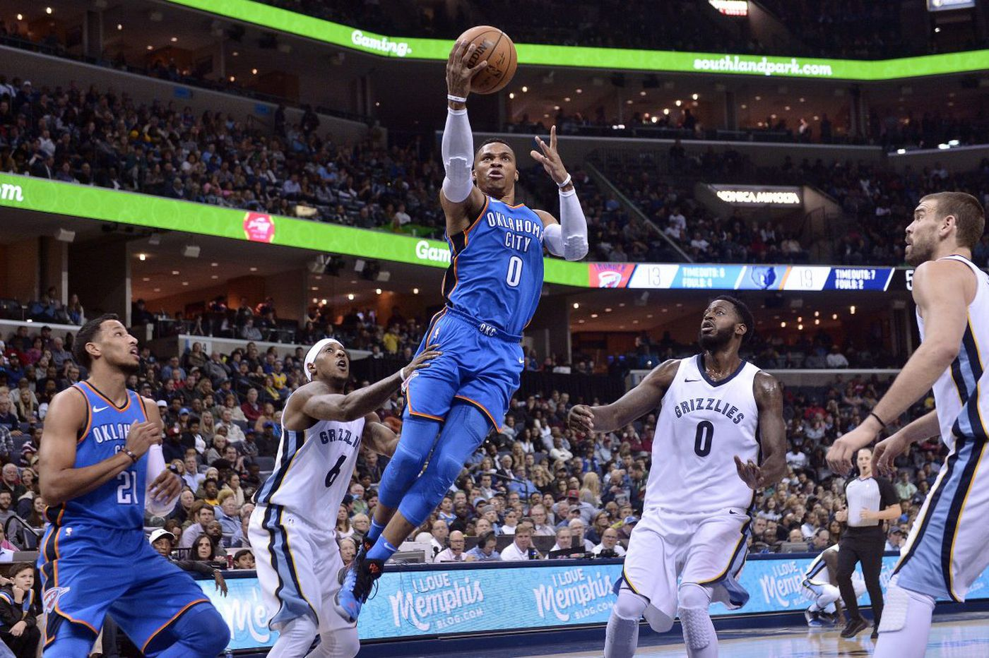 Good luck Sixers, here comes Oklahoma City's Russell Westbrook
