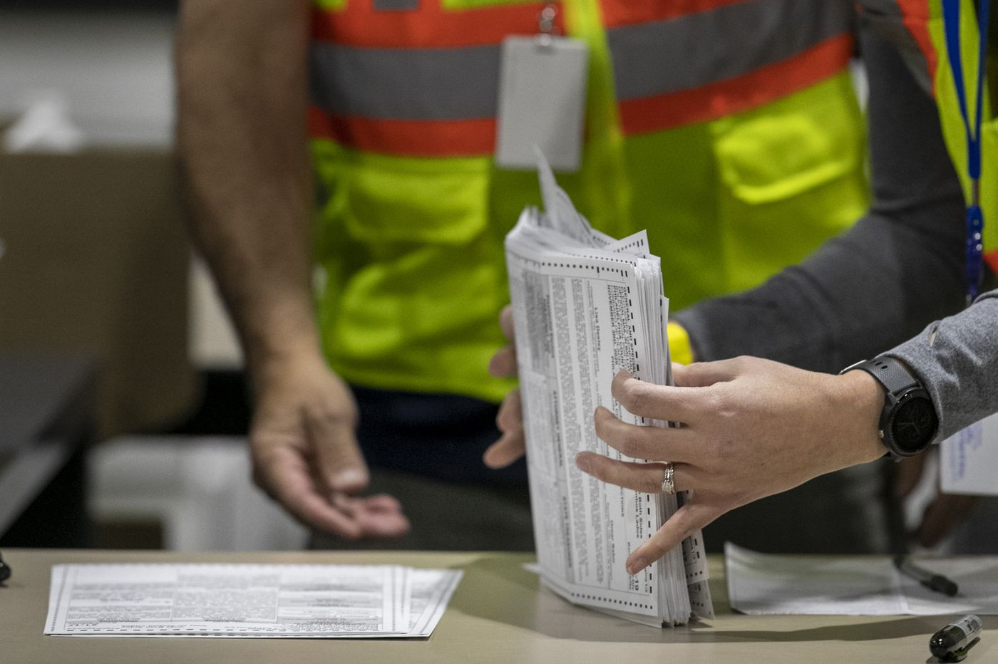 Only 10,000 Pa. mail ballots arrived after Election Day — far too few to change the result if thrown out