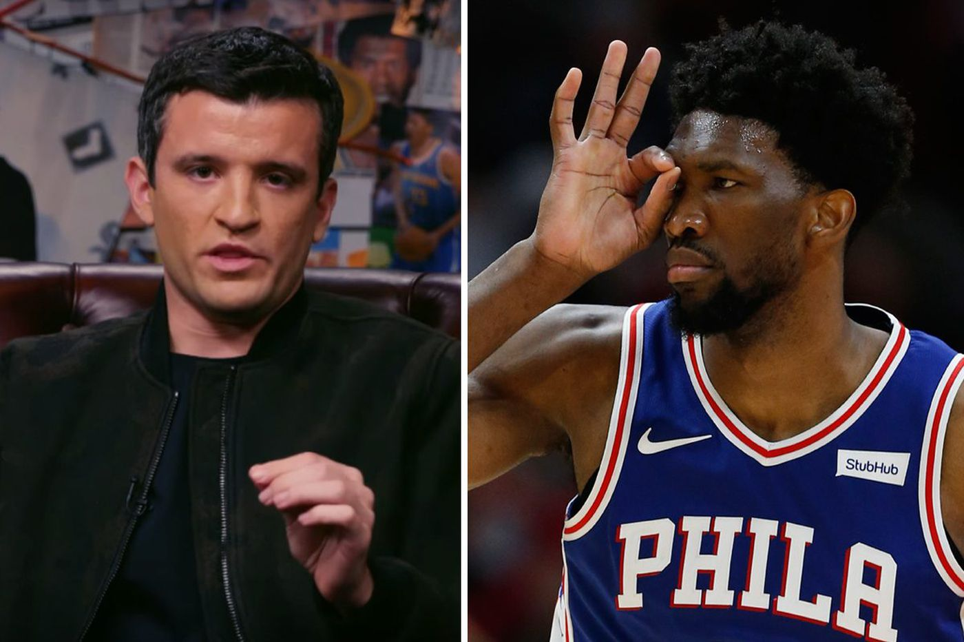 ESPN, Cycle host Rob Perez sends apology letters after Sixers' win