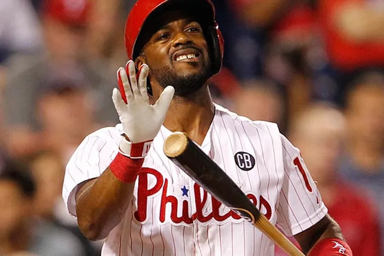 Jimmy Rollins. (Ron Cortes/Staff file photo)