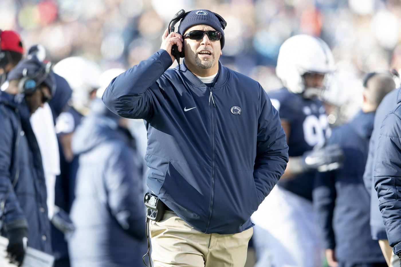 After Penn State's rough patch, James Franklin feels that team is improving