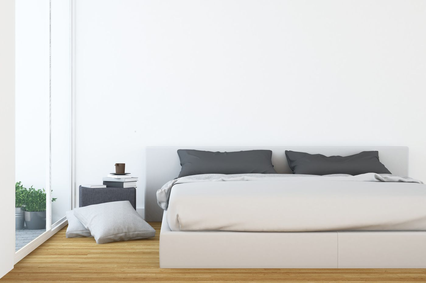 Ask Jennifer Adams: Are nightstands essential bedroom furniture for a spare, minimal look?